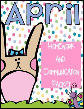 April Journal, Newsletter, Phonics Choices and MORE!
