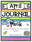 April Journal Pack
