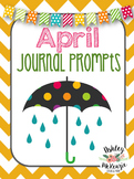 April Journal Prompts {30 Prompts Included!} Primary Grades