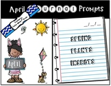 April Journal Prompts - NO PREP & PAPERLESS