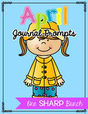 April Journal Prompts - No Prep Writing Center