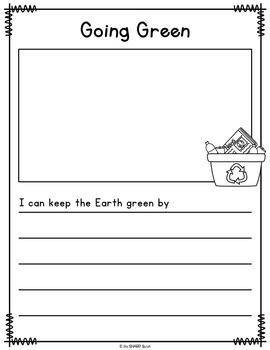 April Journal Prompts - No Prep Writing Center