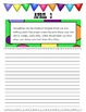 April Journal Prompts Printable Notebook Common Core W.1, W.2, W.3
