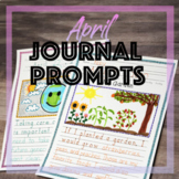 April Journal Prompts for Daily Writing Spring Handwriting Without Tears® style