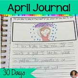 April Journal Writing