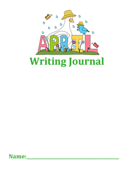 April Journal Writing
