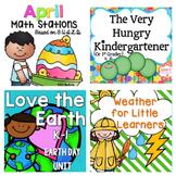 April Kindergarten Bundle