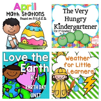 April Kindergarten Bundle