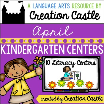 April Kindergarten Centers - Literacy