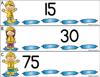 April Kindergarten Centers - Math
