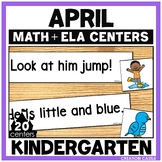 April Kindergarten Centers - Math and Literacy