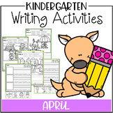 April Kindergarten Writing Activities