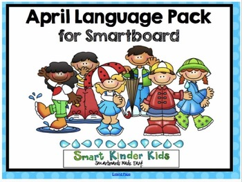 April Language Pack for SMARTboard - Updated 2015 with 13