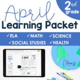 April Learning Packet 2nd Grade I Google Slides and Print