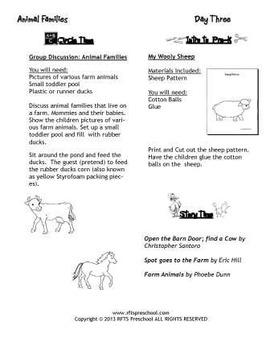 April Lesson Plans Series 1 [Four 5-day Units]