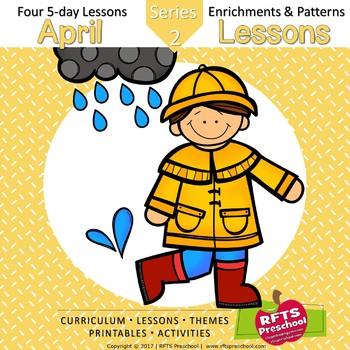 Preschool Pre-K Kindergarten Curriculum April S2