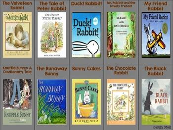 April Listening Center - Rabbits