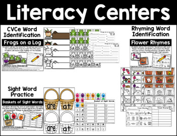 April Literacy Activities Bundle