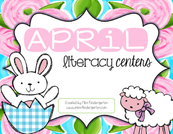 April Literacy Centers