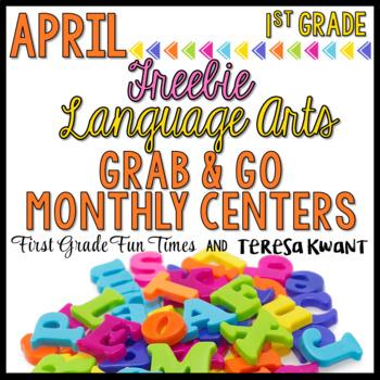 April Literacy Centers  - Free