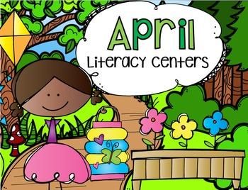 April Literacy Centers {CCSS}