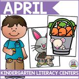 April Literacy Centers for Kindergarten