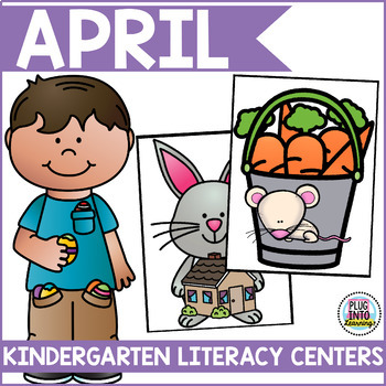 April Literacy Centers for Kindergarten