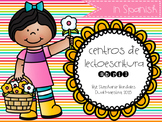 April Literacy Centers in Spanish