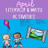 April Literacy & Math Activities