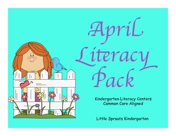 April Literacy Pack