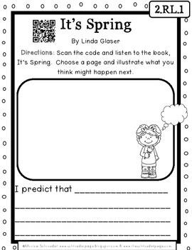 April Literacy: Quick Centers