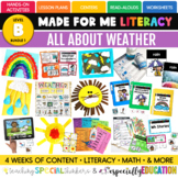 March Made For Me Literacy (Weather Coming February 15th)