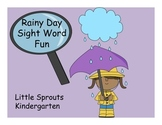 April Magnifying Glass Sight Word Find