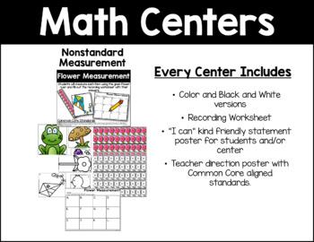 April Math Activities Bundle