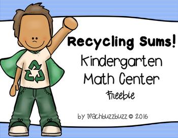 April Math Center Freebie