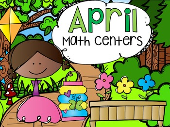 April Math Centers {CCSS}