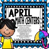 April Math Centers: 3rd Grade