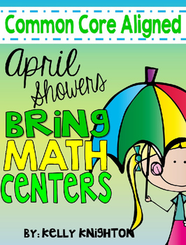 April Math Centers {First Grade}