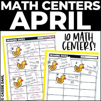 April Math Centers (Grades 3-5)