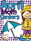 April Math Centers- Kindergarten