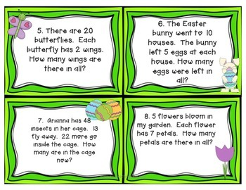April Math Centers {engaging & CCSS aligned}