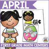 April Math Centers for First Grade