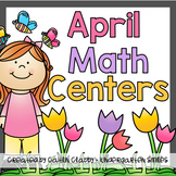 Math Centers: April