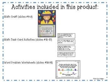 April Math Craftivity
