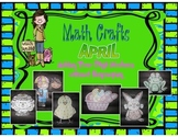 April Math Crafts Adding Two-Digit Numbers without Regrouping