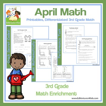 April Math: Enrichment Math for 3rd Grade