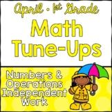 April Math First Grade