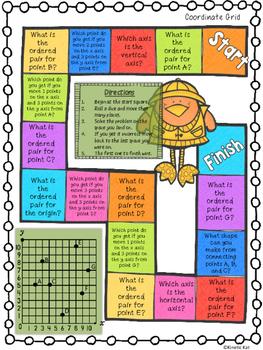 April Math Games Spiral Review: Fifth Grade