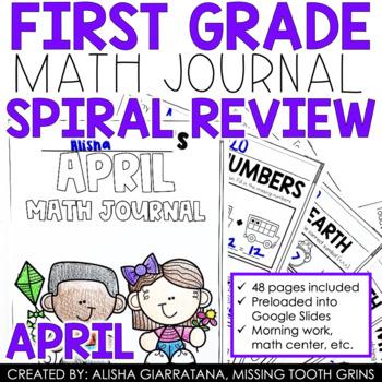 April Math Journal (1st Grade)