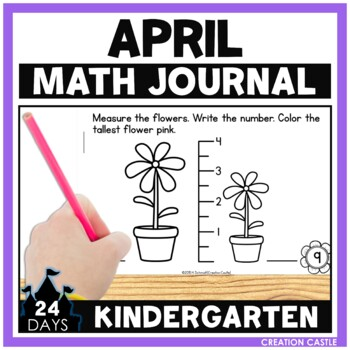 April Math Journal - Kindergarten